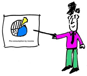 image depicting a person demonstrating the usage of visual aids.